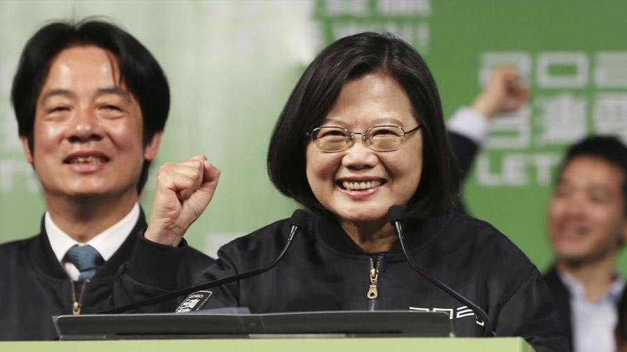 Bà Thái Anh Văn - Tổng thống Đài Loan khẳng định Đài Loan là đất nước độc lập